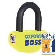 Oxford Boss disc lock yellow OF39